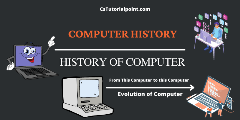 what is the history and evolution of computer