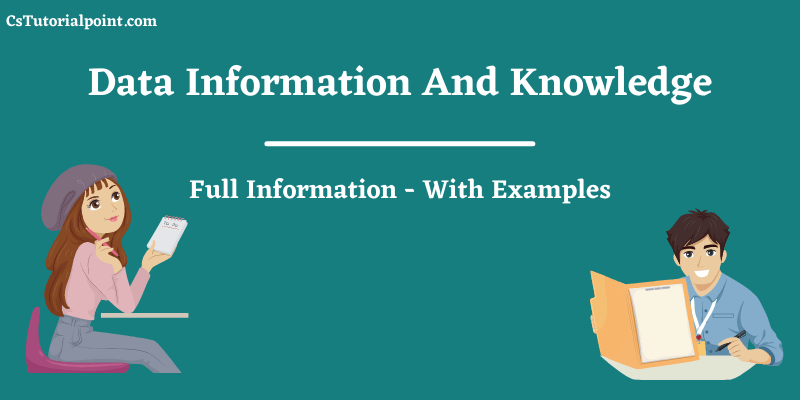 Data Information And Knowledge